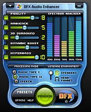 DFX Audio Enhancer v8.360 + Patch Dfxaud10