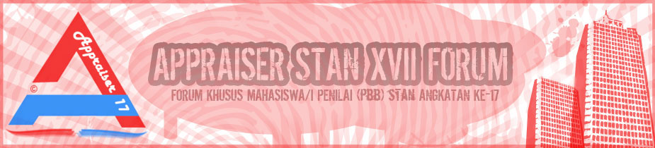 Appraiser STAN XVII Forum