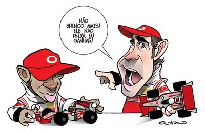 Charges do Futebol. Alonso10
