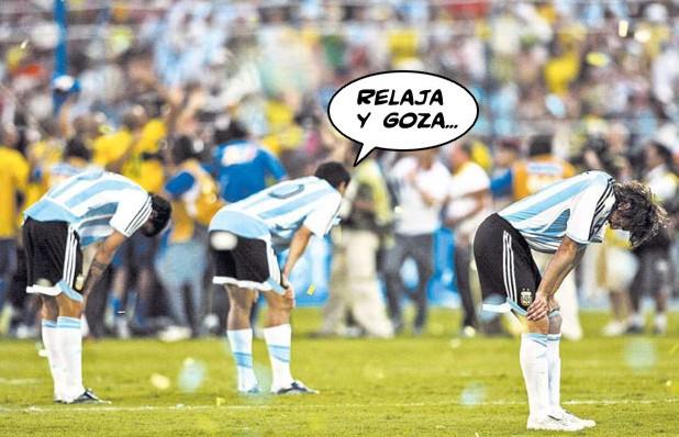 Charges do Futebol. Argent10