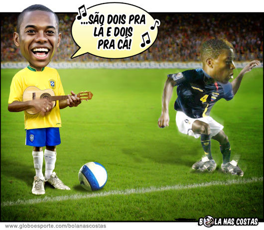 Charges do Futebol. Charge12