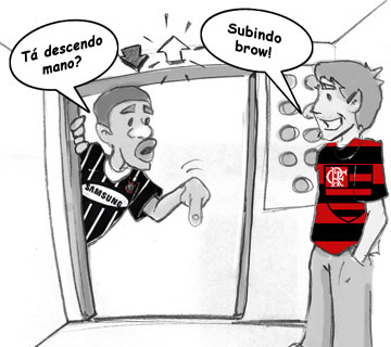 Charges do Futebol. Charge13