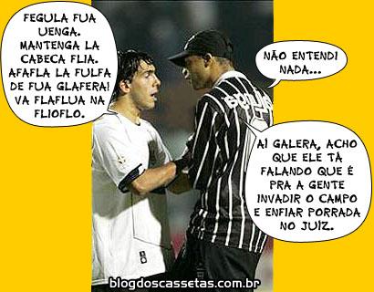 Charges do Futebol. Tevez_10