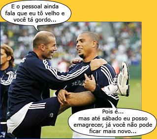 Charges do Futebol. Zidane10