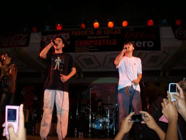Some pix of PNE on their concert here at compostela gymnasium... P10