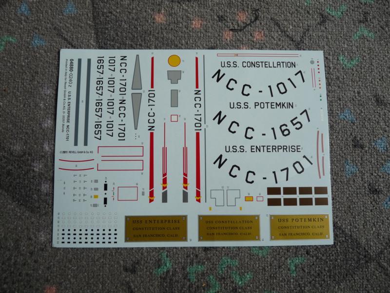 U.S.S. Enterprise NCC-1701 - Revell 1:600 P1030811