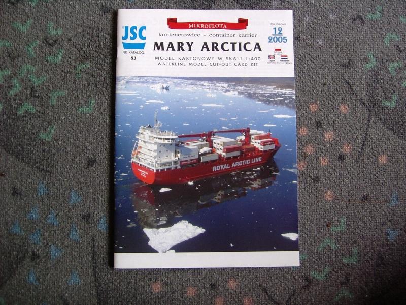 Containerfrachter Mary Arctica von JSC in 1:400 Pic01513