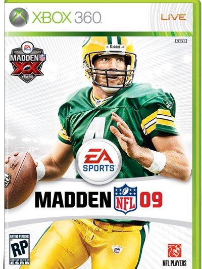 Favre na capa do Madden (oficial) Madden10