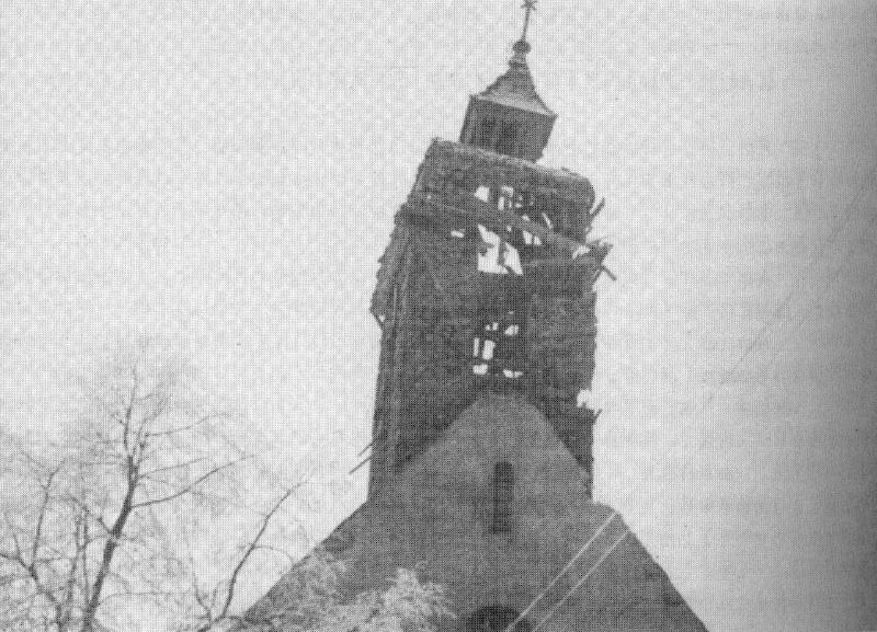 Un petit village théâtre d'une Bataille: Kilstett Eglise10