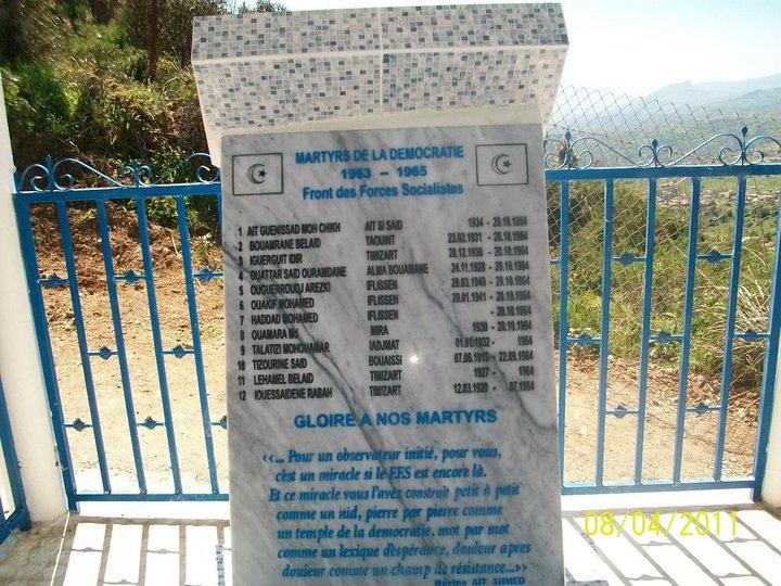 Martyrs de la démocratie 1963-1965 Democr10