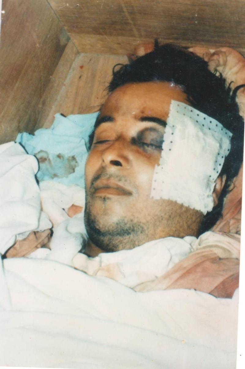 Saidi Akli , le martyr d'Aokas du printemps noir 2001 Numari15