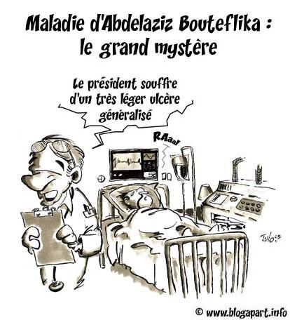 Son excellence Boutef III en caricature  26784111