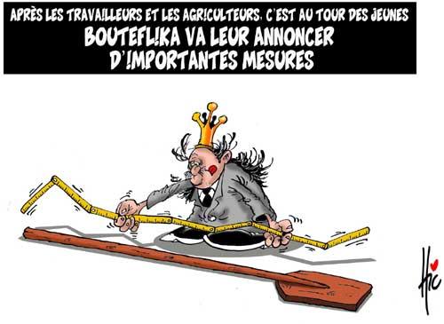Son excellence Boutef III en caricature  D93-le10