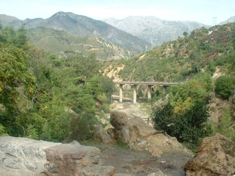 Les Gorges de Bordj Mira Allant Vers Kherrata Dscf0013