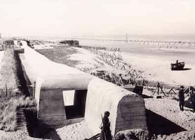 Flobart sur la plage de Wissant 1943 Wissan11
