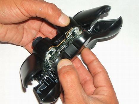 Como desmontar el mando sixaxis 0410