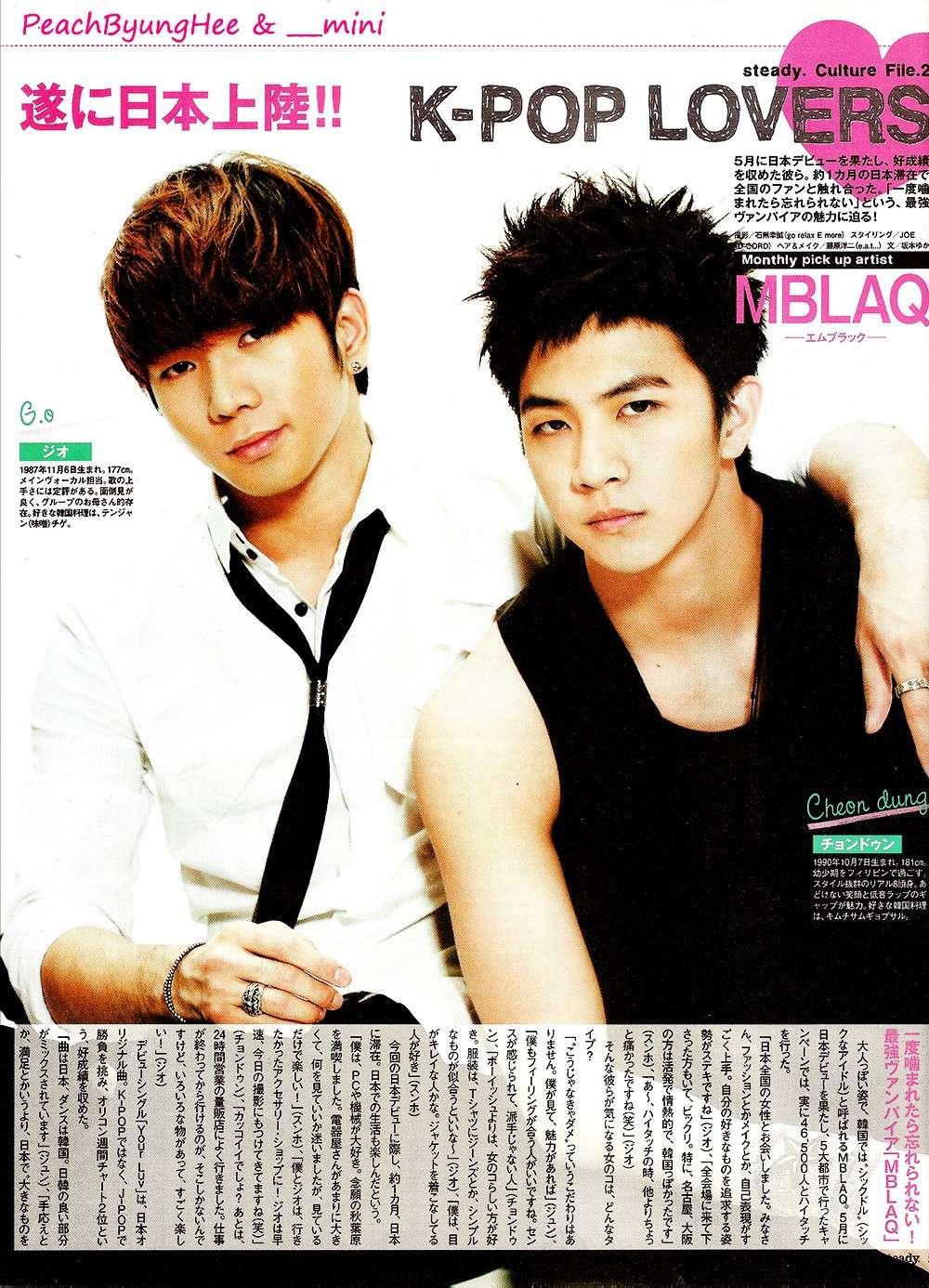 MBLAQ @ Steady Magazine  33975211