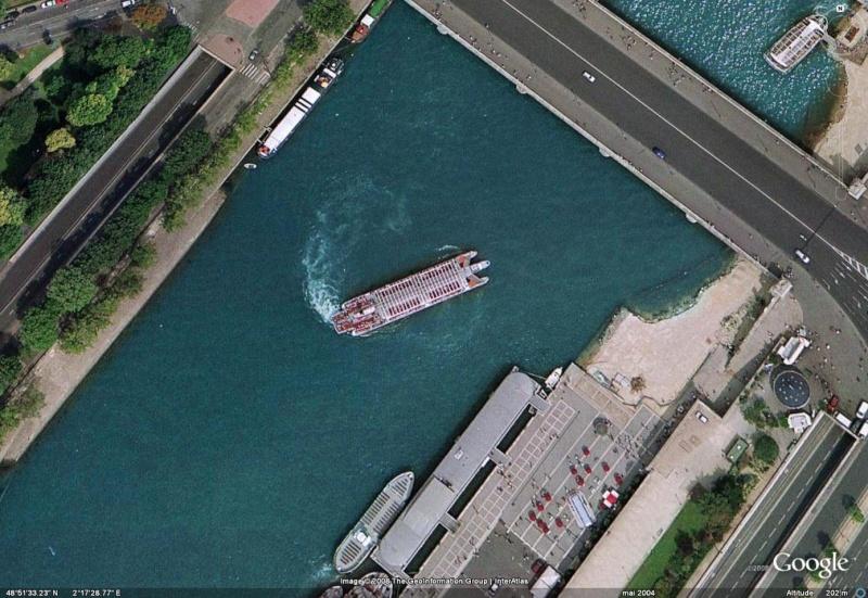 Bateau de la Seine . Image310