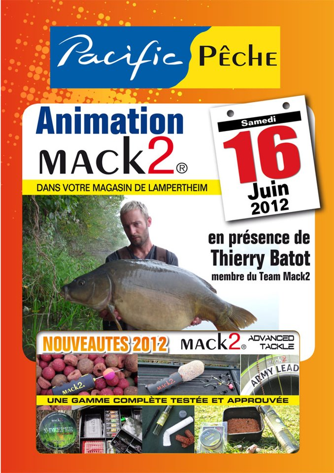 Animation Mack 2  magasin PACIFIC PECHE de Lampertheim (67) 22398210