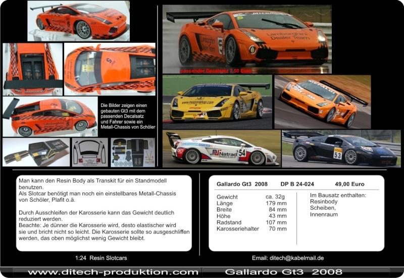 carro résine 1/24 + 1 kit tamiya NISSAN GTR R35 2008 Ditech11