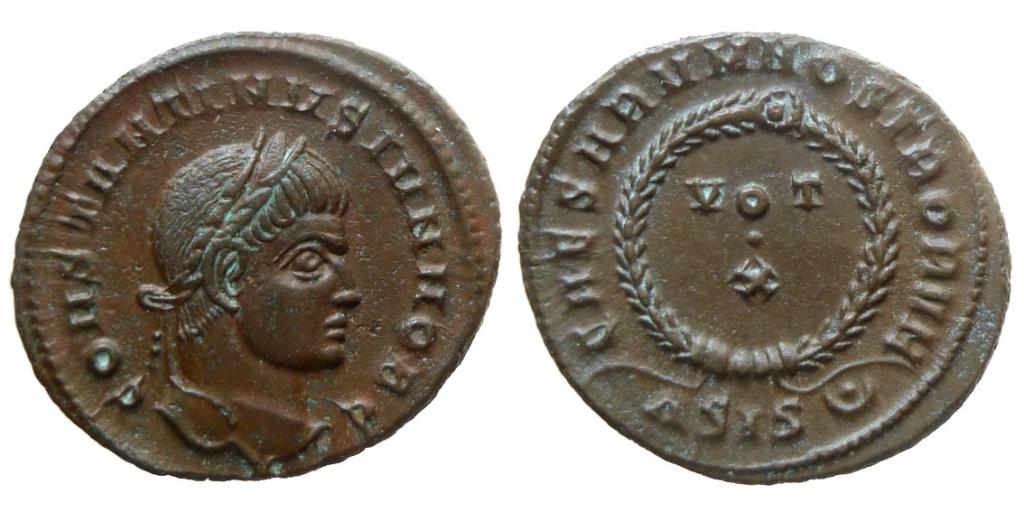 Constantin II pour Siscia ... énigme 0859510