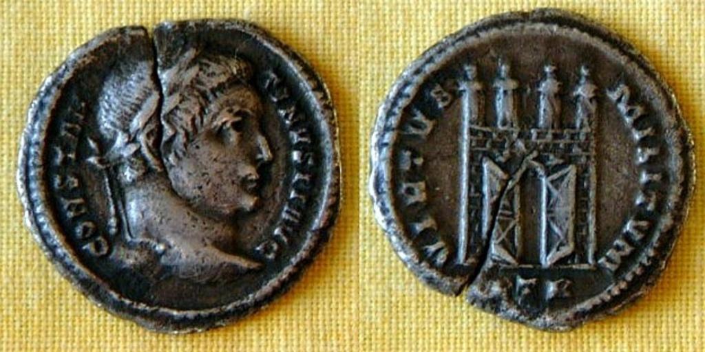 Argenteus inédit de Constantin pour Trêves Consta12