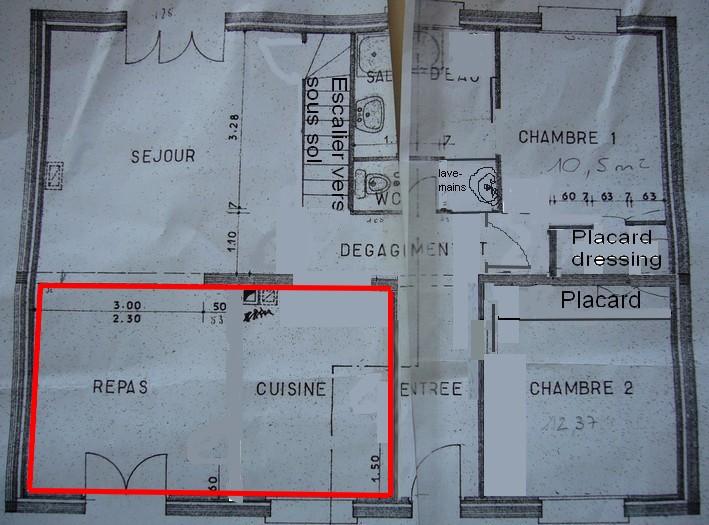 Mur porteur et poteaux de soutien Plan_p10