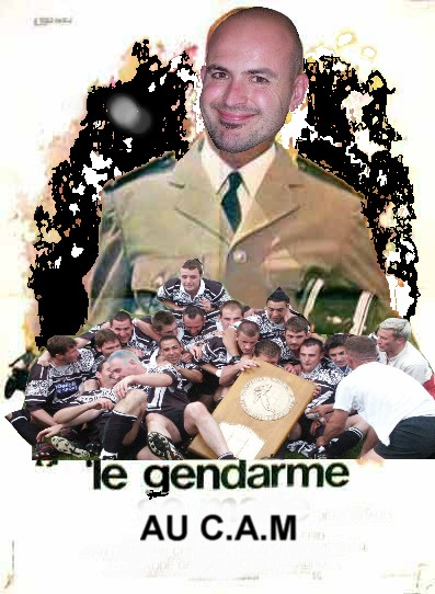 LE C.A.M rugby Herve10