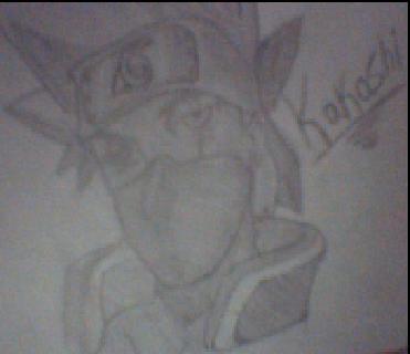 Kakashi Y Pein Dibujo10