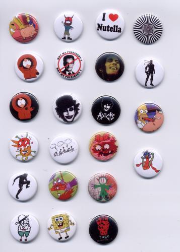 Fabrique et vente de badges 18009610