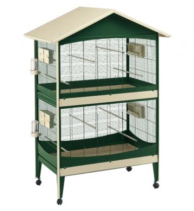La famille s'agrandit : cages XL et volières d'intérieur Duetto10