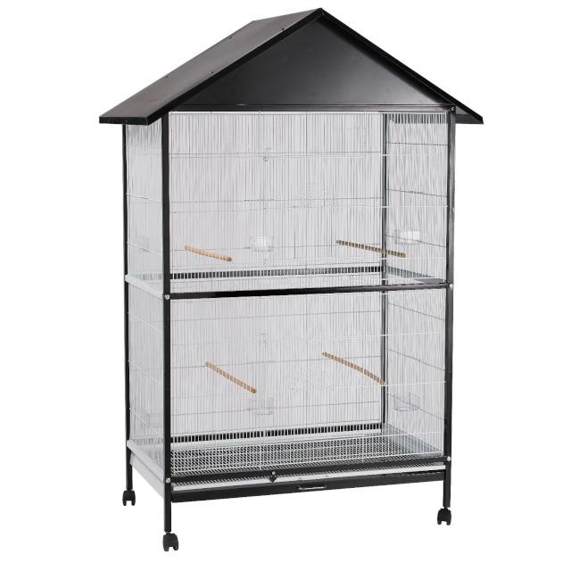La famille s'agrandit : cages XL et volières d'intérieur Volier11
