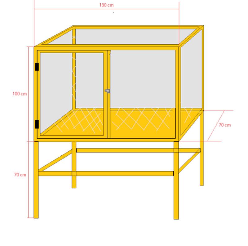 La famille s'agrandit : cages XL et volières d'intérieur Volier14