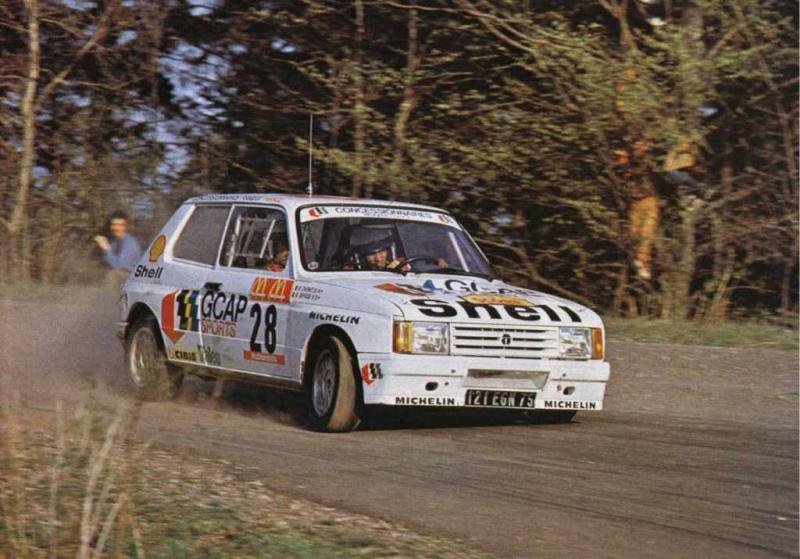 La Samba en rallye Samba110