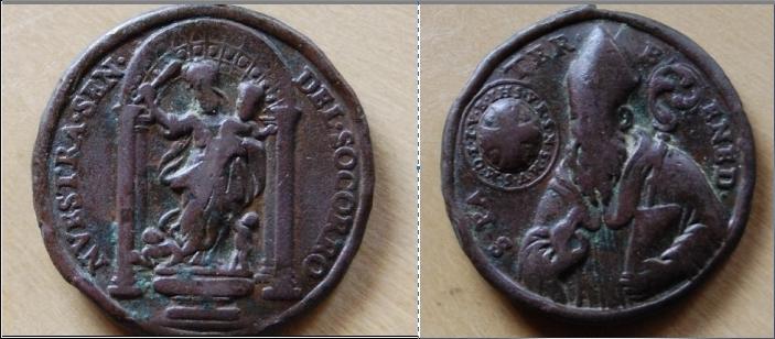 recopilación de medallas de San Benito - Página 2 Captur39