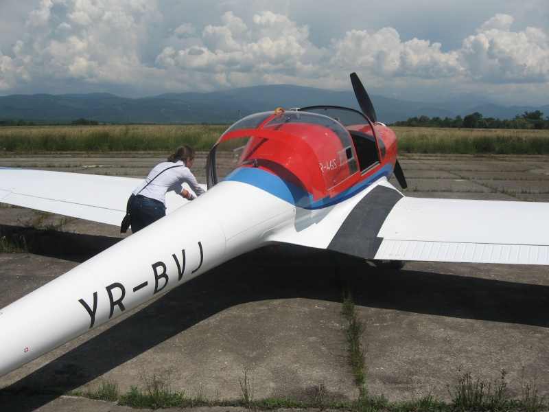 IAR-46 Zbor1012