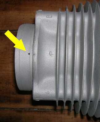 [R60/5] Souci de Lubrification culbuteurs gauches Gr42610
