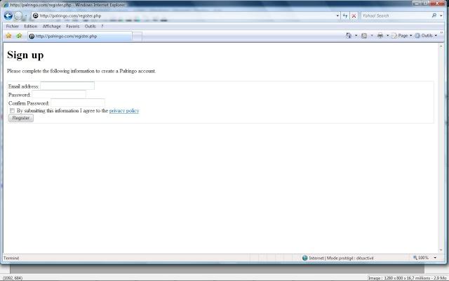 Faire du MSN avec une connexion wap presque comme le vrai MSN : PALRINGO Pal0210