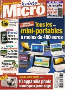 Magazines Micro Hebdo 01u2110