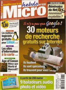 Magazines Micro Hebdo Viu12110