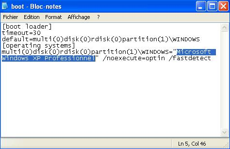 إضافة إسمك بدلا من Microsoft Windows XP Professionnel 32836110