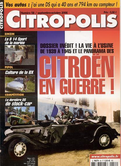 le convoi Citroën de juin  1940: l'histoire s'éclaircit! - Page 2 Citrop10