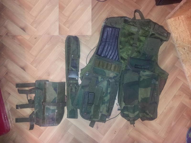 Gilet tactique KLENT camo 20120512