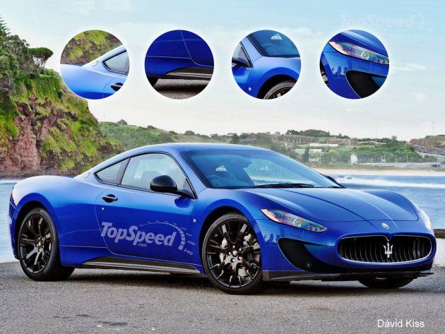"""Primo render della Maserati """"GranSport"""" (motore centrale) 2014-2015  Masera45"""