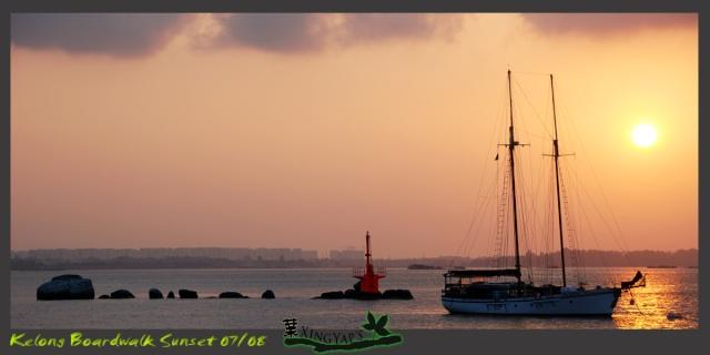 Sunrise at Kelong Boardwalk Dsc_0211