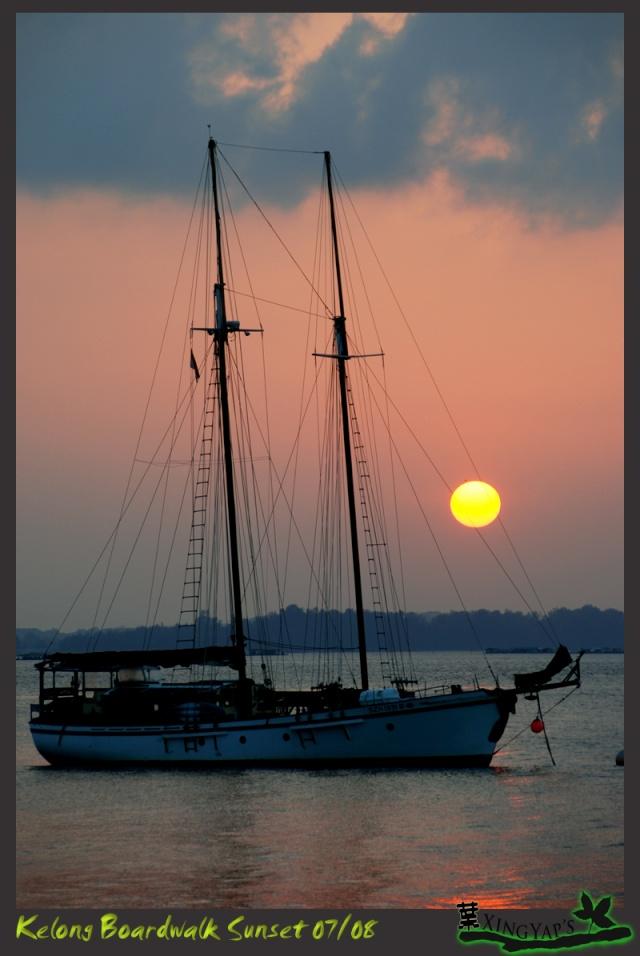 Sunrise at Kelong Boardwalk Dsc_0310