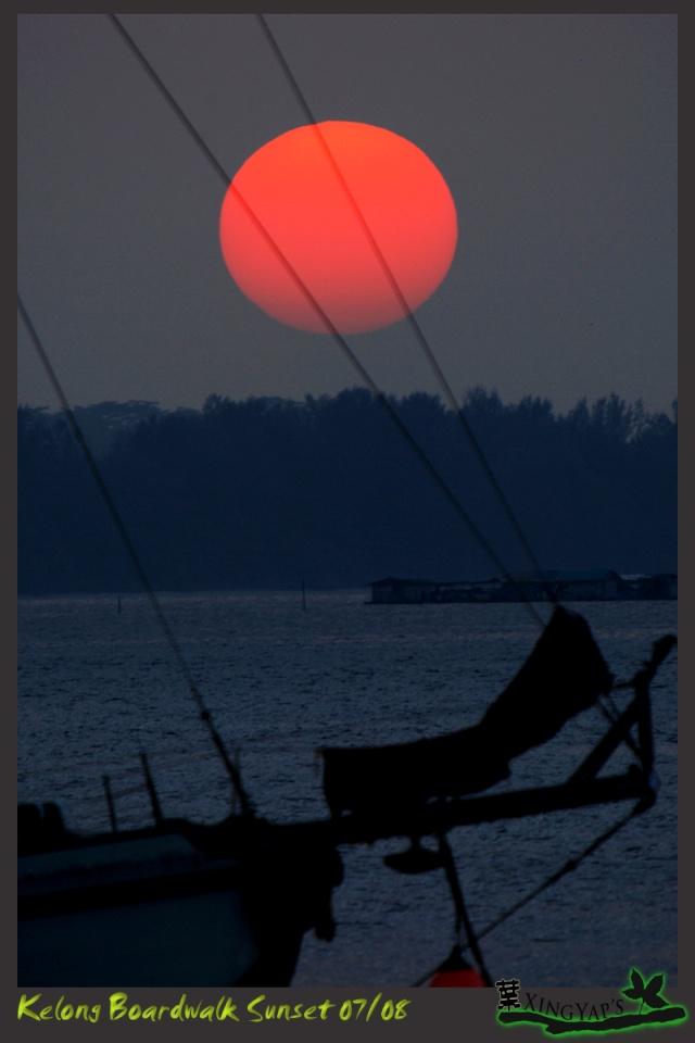 Sunrise at Kelong Boardwalk Dsc_0311