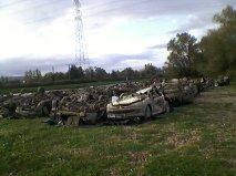 une trentraine de voitures sorties de l eau Getatt10