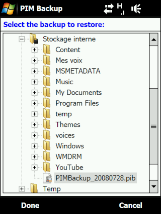 Pim Backup Screen21