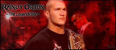 bureau du general manager de raw : Randy Orton